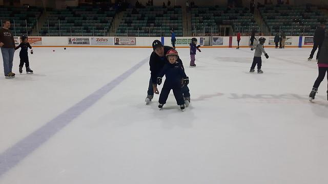 Skating!