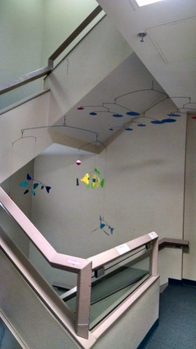 Art in the Stairwell