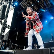 Post Malone at the Meadows Festival in Queens, NY on 10/1/16