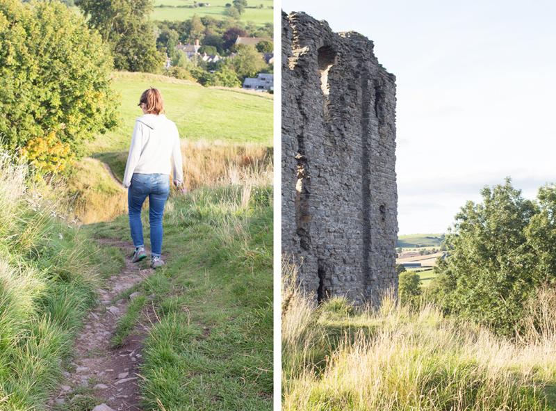 11 clun castle collage katie and castle