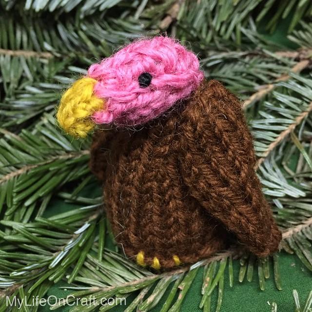 Vulture Ornament
