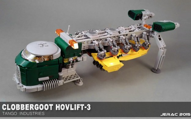 Clobbergoot hover Tow Truck