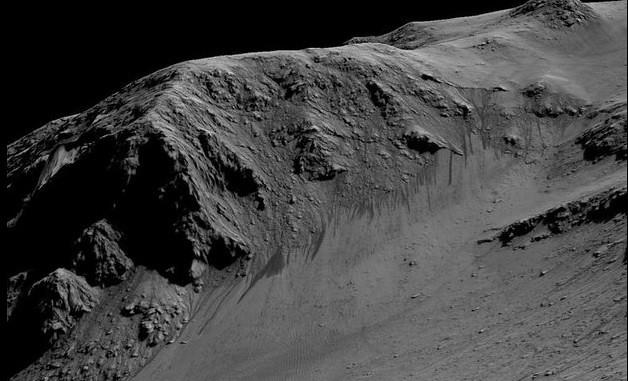 Podría haber corrientes de agua salada en Marte: NASA