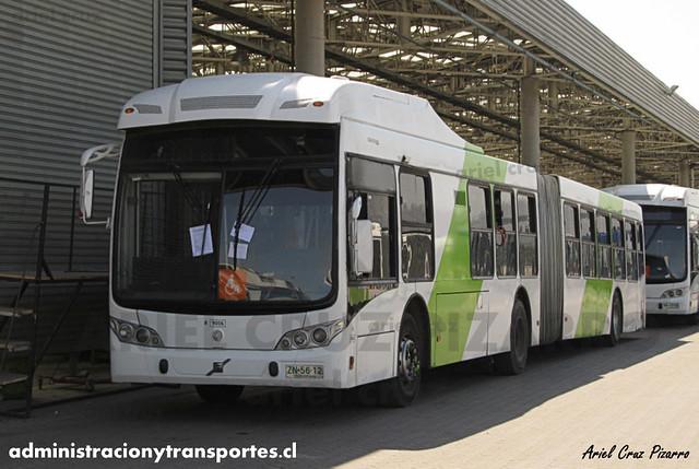 Transantiago - Subus Chile - Caio Mondego LA / Volvo (ZN5612) (9006)
