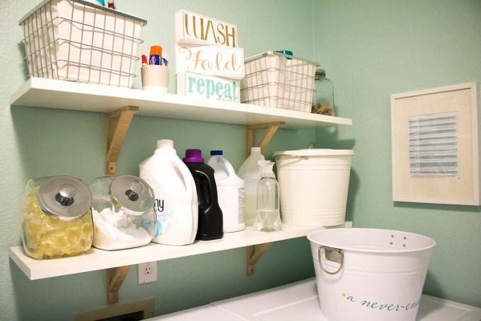 Laundry Room Shelfie