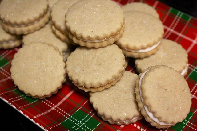 Eggnog Sandwich Cookies - 28
