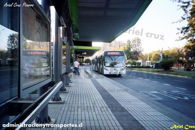 Transantiago - Inversiones Alsacia - Marcopolo Gran Viale / Volvo