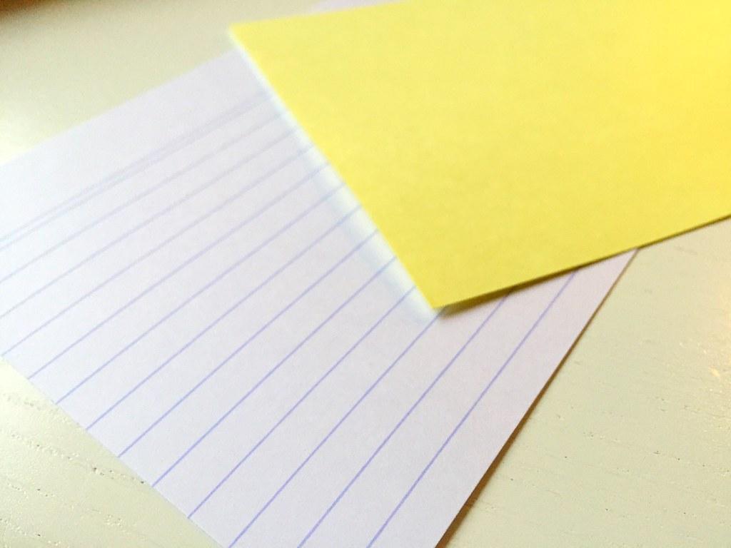 Exacompta Karteikarten/Index Cards