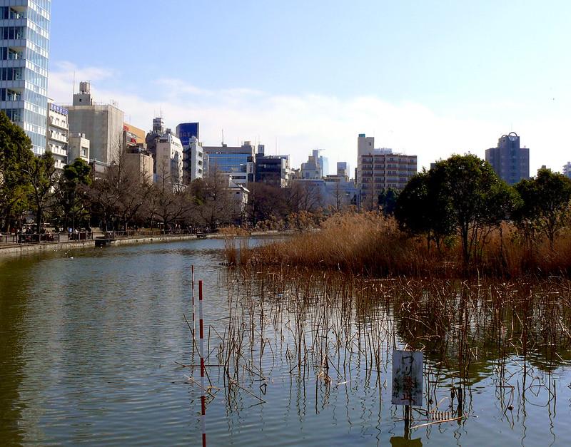 Japón en el anime, estanque Shinobazu en Ueno