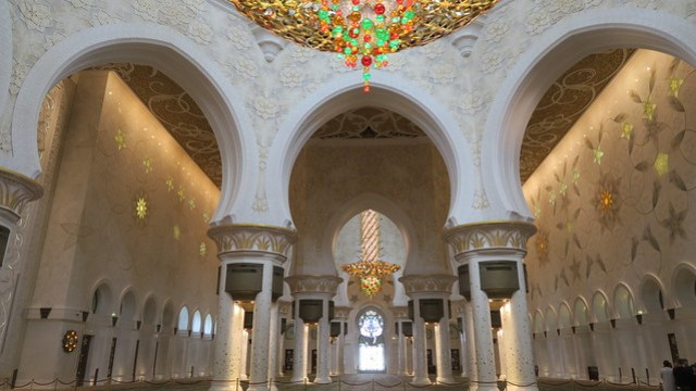sheikh zayed mosque musallah area