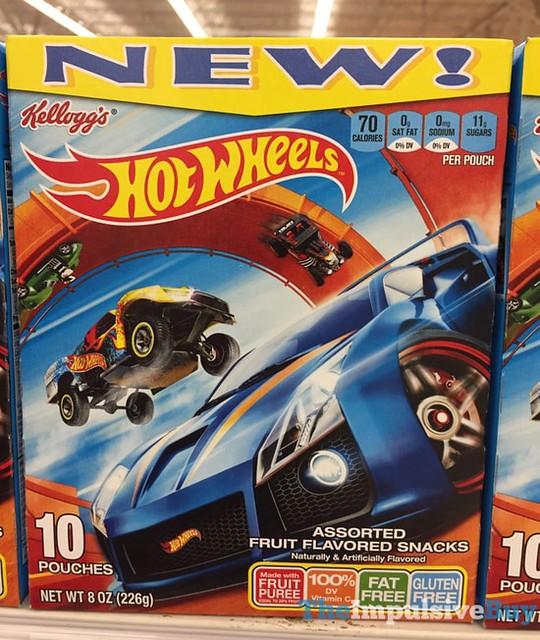 Kellogg's Hot Wheels Fruit Snacks