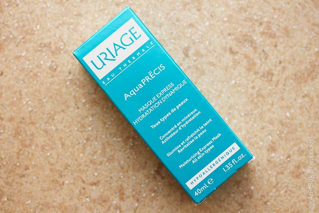04 Uriage AquaPrecis Moisturizing Express Mask All Skin Types
