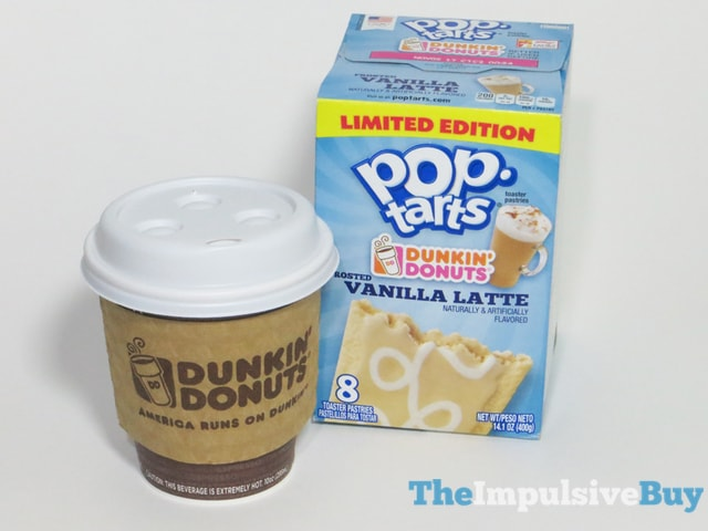 Limited Edition Dunkin' Donuts Frosted Vanilla Latte Pop-Tarts 3