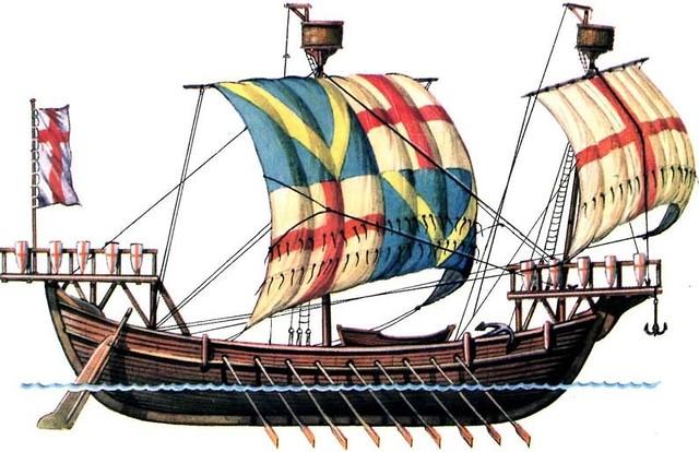 Galea genovese XI secolo