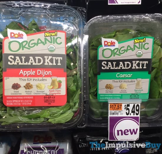 Dole Organic Salad Kits (Apple Dijon and Caesar)