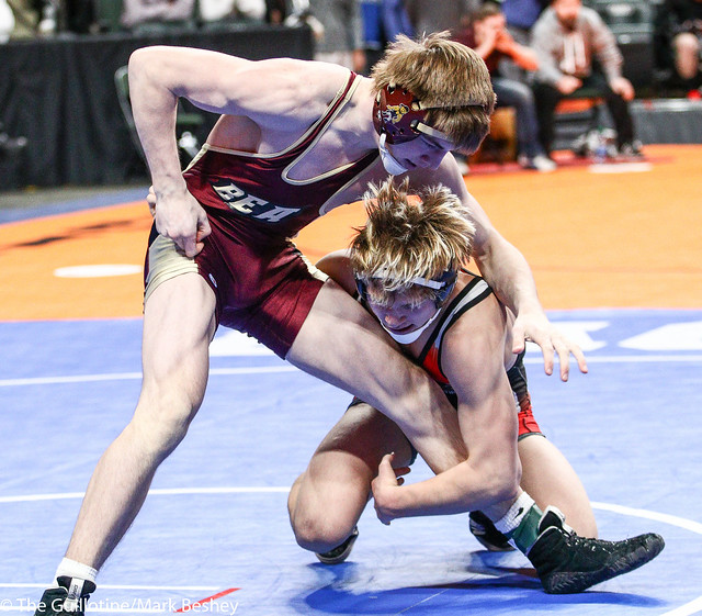 152A - Semifinal - Keaton Long (West Central Area-Ashby-Brandon-Evansville) 42-3 won by decision over Zach Buseman (Blue Earth) 40-7 (Dec 3-2)