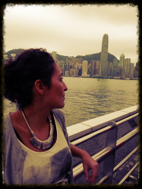 Lobke in Hong Kong