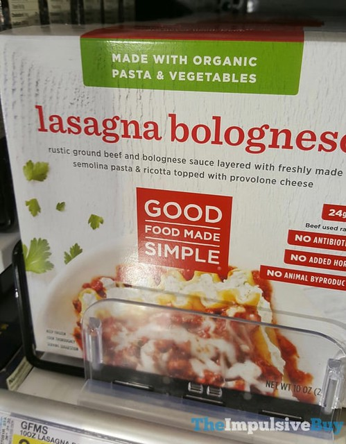 Good Food Made Simple Lasagna Bolognese