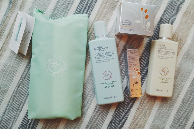 Liz Earle goodies from Ladies Day