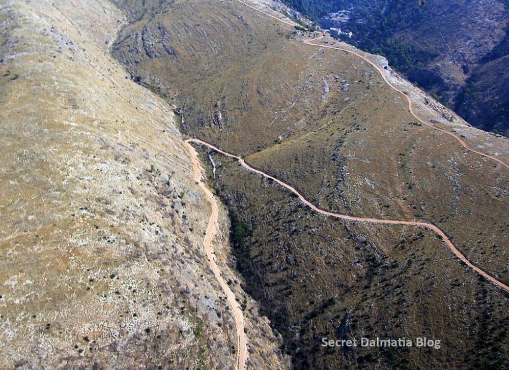 Barren hillside of Brac