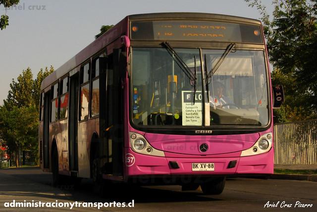 Transantiago - STP Santiago - Caio Mondego H / Mercedes Benz (BKXV88) (257)