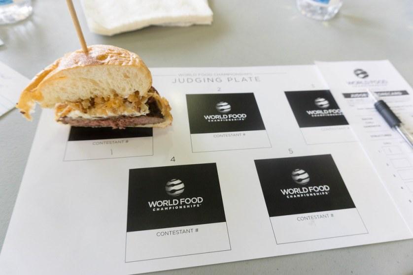 Food Judge in the Making - World Food Championships Blogger Summit, Orange Beach, Ala., Nov. 7 - 9, 2016