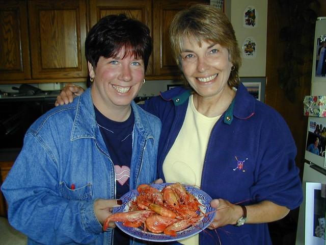 Kathy and Lynn - Seabeck Dinner