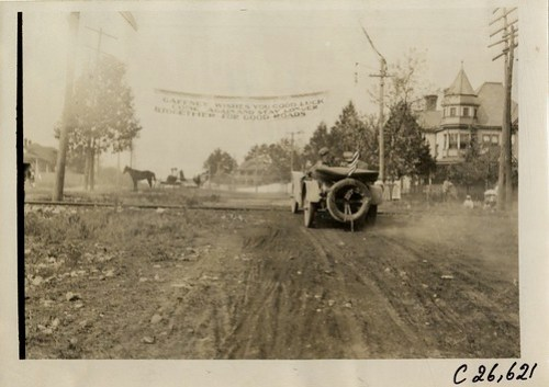 1909 Good Roads Tour through Gaffney