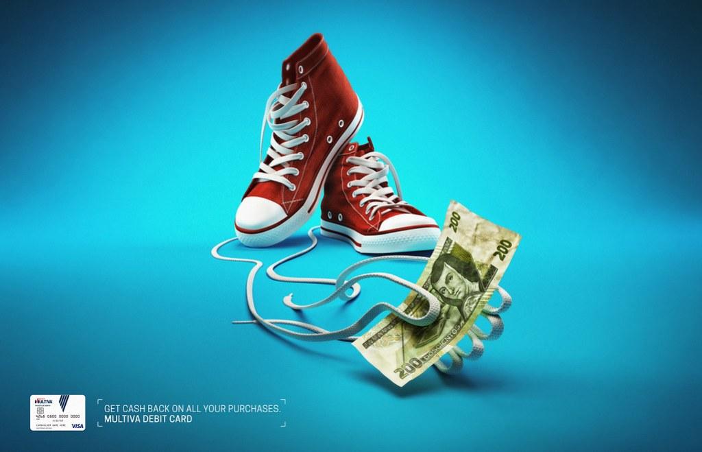 Banco Multiva Debit Card - Sneakers