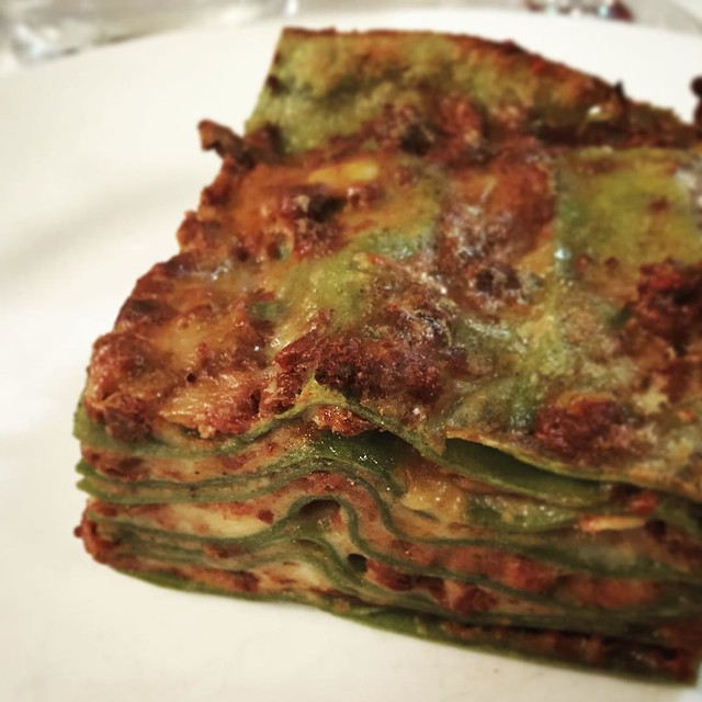 A Bologna classic... Lasagne. The best I ever had. Ever.