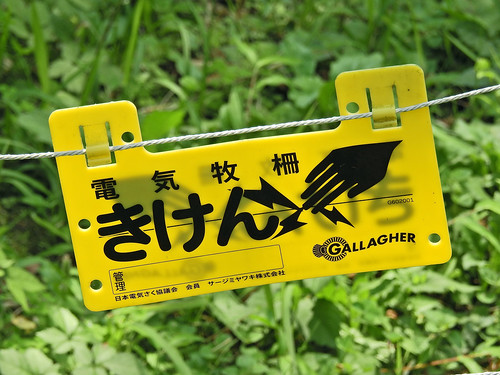 Electricity Warning, Isehara, Japan