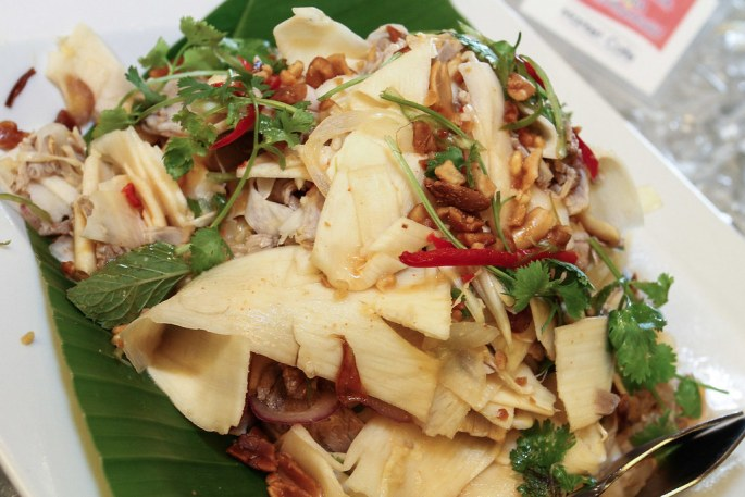 heart of palm pork salad