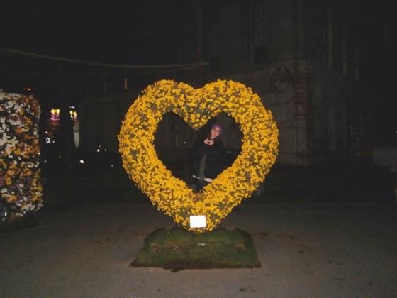 Heart at Seoul Chrysanthemum Exhibit