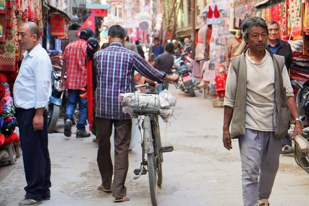 Street. Ason Tole, Kathmandu
