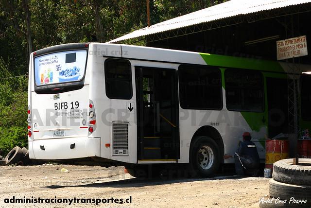 Transantiago - Metbus / Buses Metropolitana - Caio Mondego H / Mercedes Benz (BJFB19)
