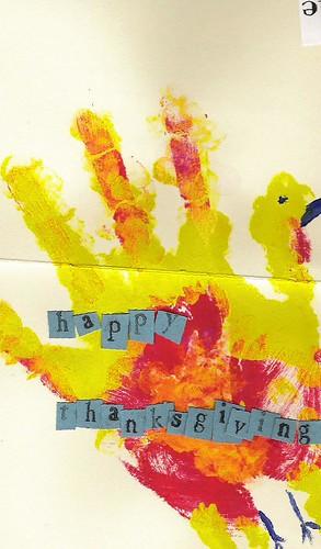 Happy Hand Turkey