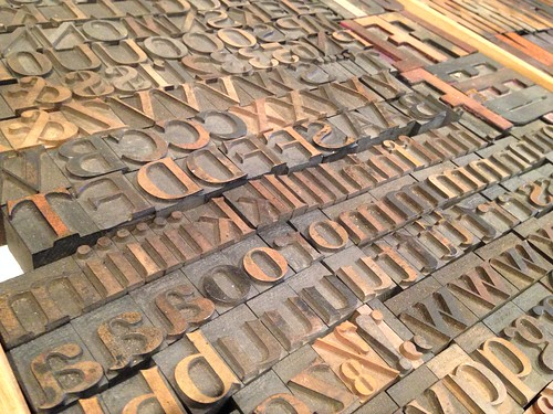 Letterpress printing at Porchlight Press