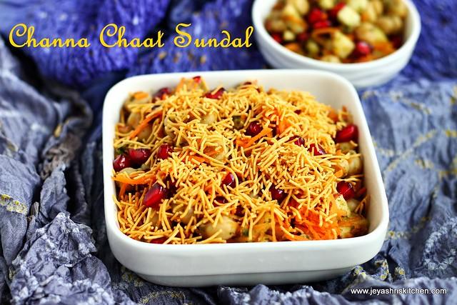 Channa chaat- sundal