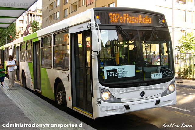 Transantiago - Buses Vule - Caio Mondego H / Mercedes Benz (BJFT32) (139)