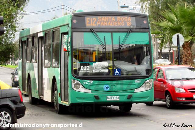 Transantiago - Buses Vule - Caio Mondego H / Mercedes Benz (BJFV23) (205)