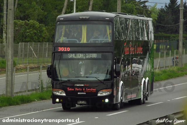 Talca París & Londres - San Fernando - Modasa Zeus / Scania (DHDT46) (3010)