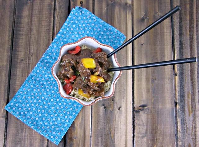 Stir Fried Black Pepper Venison