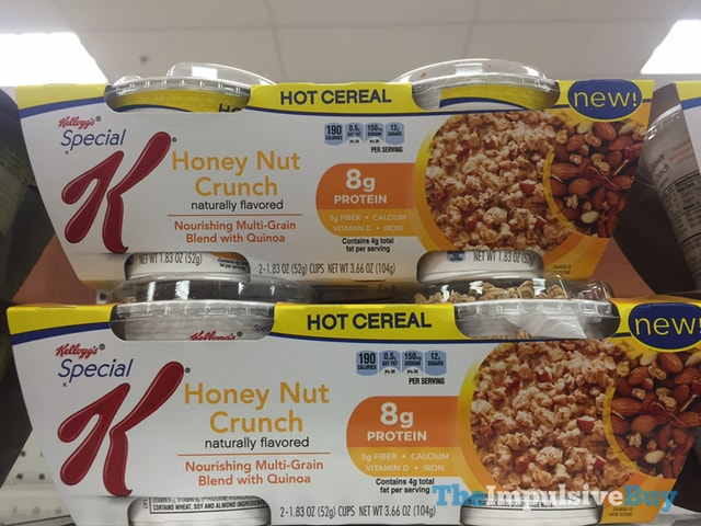 Kellogg's Special K Honey Nut Crunch Hot Cereal