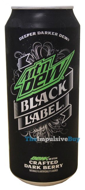 Mtn Dew Black Label