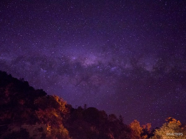 Milky Way over River Valley
