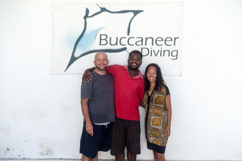 Our outstanding dive master Waziri.