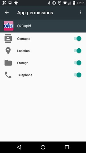 Android 6.0 permission system