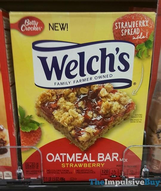 Betty Crocker Welch's Strawberry Oatmeal Bar Mix