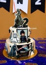 Star Wars DarthVader Birthday cake