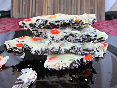 Candy Cane Bark Close